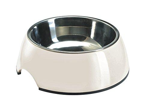350ml Bowl (Hunter Melamine Bowl for Dogs or Cats, 350 ml, White)