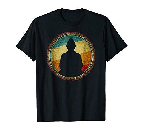 (Buddha Meditation Vintage T-shirt)