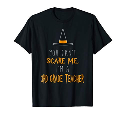 You Can't Scare Me I'm A 3rd Grade Teacher T-Shirt