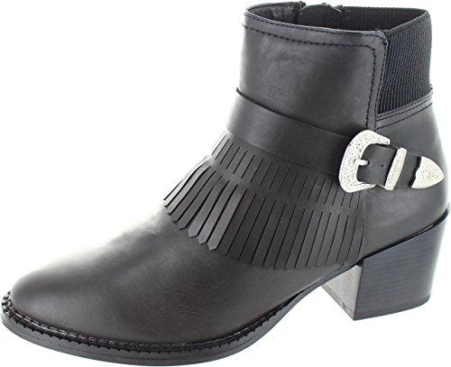 Vero Moda Vmsille, Damen Stiefel & Stiefeletten  schwarz schwarz