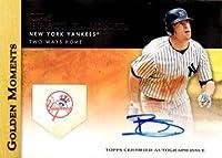 2012 Topps Golden Moments Certified Autographs #GMA-BG Brett Gardner Autograph Baseball Card - Near Mint to Mint