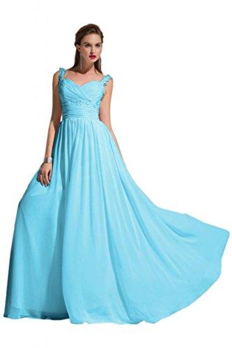 Sunvary -  Vestito  - linea ad a - Donna blu 34