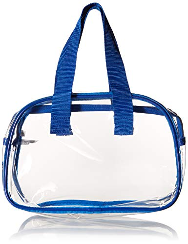 5751db0ce01 Clear Purse that is Event Stadium Approved. Clear Handbags for Cosmetics,  Makeup, and Travel.