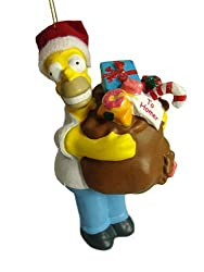 The Simpsons Homer Simpson Christmas Ornament