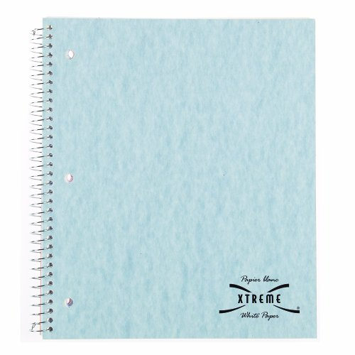- Blueline Xtreme White Notebook Wirebound 5-Subject 400 Pages 11-Inch x 9-Inch (B33001CA)