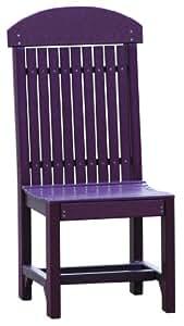Outdoor Polywood Regular Chair - *ARUBA BLUE* Color