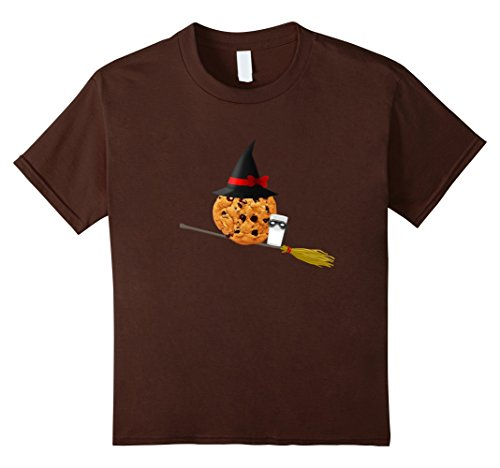 Kids Silly Halloween Witch T Shirt - Cookie and Milk Masq...