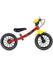 Bicicleta Balance Bike Fast Aro 12, Nathor, Multicor