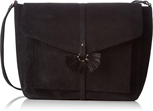 Petite Mendigote femme Swing Sac bandouliere Noir (Noir (Black))