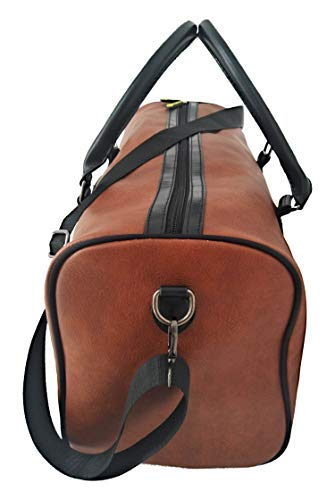 c179970fa8ad Soft Travel And Sports Gym Leather Duffle Bag 40L by Dapper Dashy ...