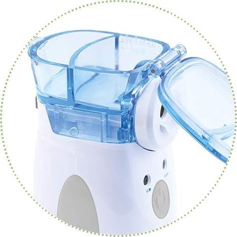 de070d231 Inhalador Nebulizador Portátil Nuvita 5076 - Nebulizador de Malla Vibrante  - Aerosol de Bolsillo Profesional - Compresor - Enfermedades Respiratorias  y ...