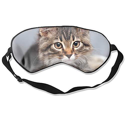 Soft & Smooth Sleep Mask Funny Sleeping Mask Creative Eye Mask Sleep (Beautiful Large Cat)