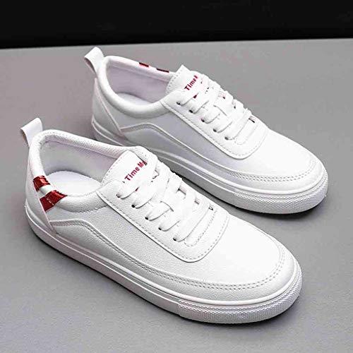 Travail Outdoor Athlétique Respirant Chaussures Dames Rouge De Course Féminine Entraînement Wqianghzi Semelle Protection Sneakers Compétition Chaussure Mode Unisexes OwCxaBpn