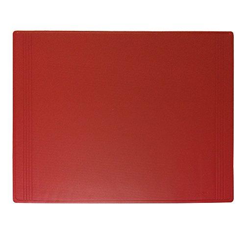 "Artistic 17""x22"" Euro-Pad Desk Pad Desk Protector, Copy-Safe, Embossed Burgundy"