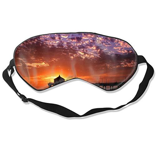 Eye Mask Romantic Things to Do in Los Angeles Stylish Eyeshade Sleep Mask Soft for Sleeping Travel for Girls]()