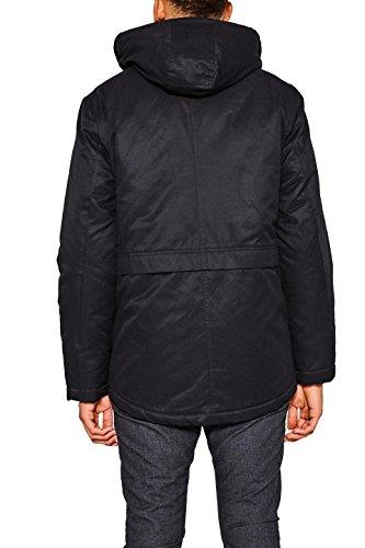 edc Negro Esprit 001 Hombre by para Abrigo Black xxq6Ow