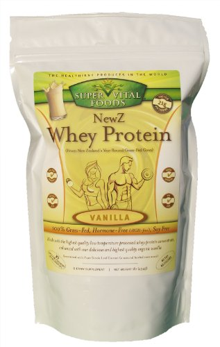 NewZ Whey Protein Vanilla 1LB – 100% Grass Fed New Zealand Whey – Low Temperature Processed Review