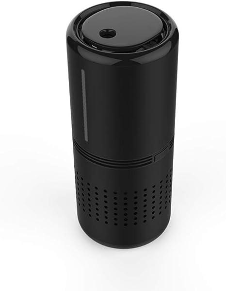 RUIXFAP Tranquilo Purificador de Aire con Filtro HEPA, humidificador, eliminación de Polen de Humo y Malos olores, Escritorio de la Oficina del automóvil Regalo, Black: Amazon.es: Deportes y aire libre