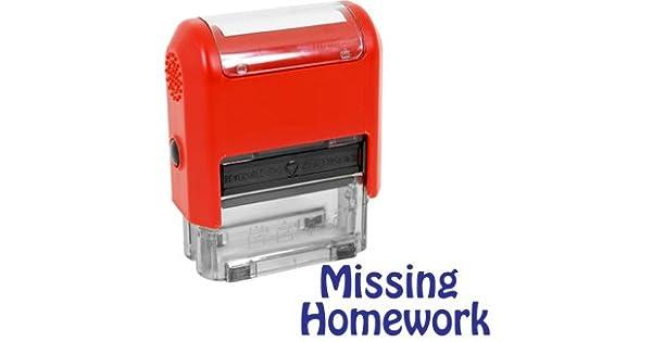 Teacher Stamps 55084 Missing Homework