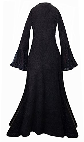 Damen Aeon Kleid schwarz Aeon Kleid Damen schwarz schwarz schwarz wqOX1aB