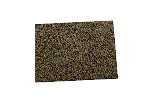 Cork Nature 620155 Superior Sealing Cork Rubber Sheet, 36' x 36' x 0.031' 36 x 36 x 0.031 Amorim