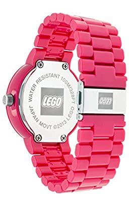 LEGO-9007620-I-LOVE-LEGO-Pink-Adult-Watch