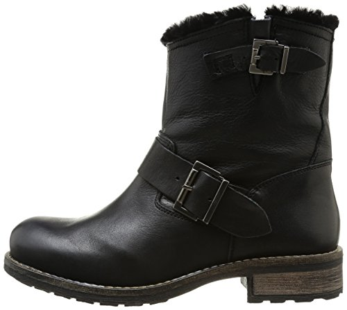 Buffalo Donna noir Stivali London black898 Nero qqTaxCw4