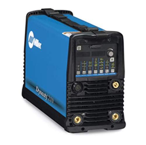 Miller Dynasty 210 DX TIG Welder Cooler Power Source, 120/480 Volt With 8' Primary Cord, (2) Dinse Connectors And Adjustable Sholder Strap, Package Size: 1 Each