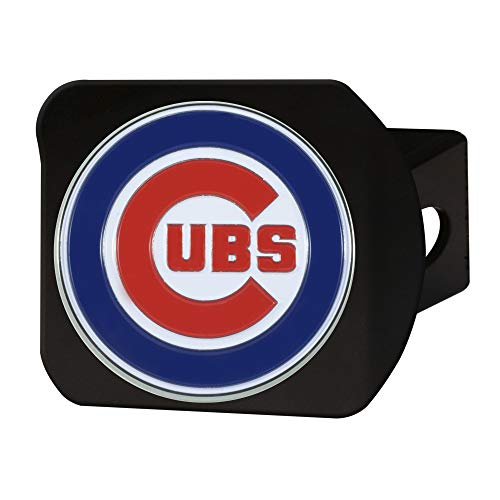 FANMATS MLB - Chicago Cubs Color Hitch - Black