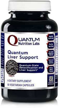 Quantum Liver Support, 60 Vegetarian Capsules - Quantum-State Detoxification and Liver Support