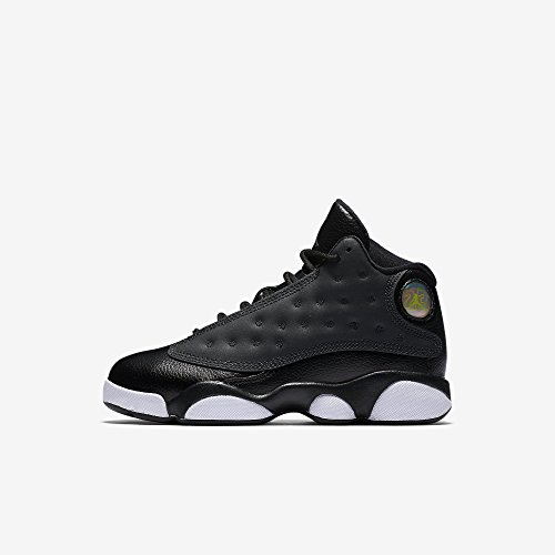 Jordan 13 Retro Preschool/Little Kids Shoes Black/Anthracite/Hyper Pink 439669-009 (2 M US) by Jordan