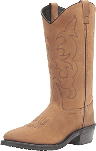 Old West Boots Men's TBM3011 Light Apache 10.5 EE - - Cowboy Brown Boots Traditional