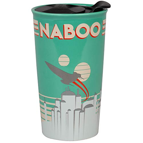 Star Wars Naboo Ceramic Travel Tumbler Mug - 16 oz