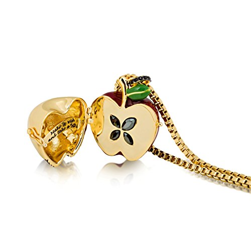 Disney Couture médaillon neige blanc grand Poison Apple