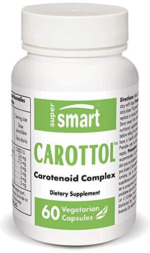Supersmart – Carottol – Carotenoid Complex Supplement – with Beta Carotene, Lycopene, Lutein & Zeaxanthin – Vision & Eye…