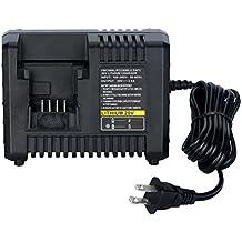[Patrocinado] Lasica BDCAC202B - Cargador de litio para Black and Decker (20 V, 20 V, batería de iones de litio, 20 V, LB20 LBX20 LB2X4020 PCC682L PCC600), Charger BDCAC202B, 52.00watts, 18.00 volts