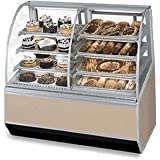 Federal Industries SN59-3SC Series 90 Dual Bakery Case Refrigerated Left Non-Refrigerated Right