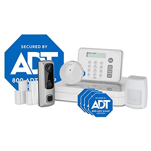 HD Video Doorbell Camera System from LifeShield, an ADT Company – 8-Piece Easy, DIY Smart Home Security System – Optional 24/7 Monitoring – No Contract – Wi-Fi Enabled – Alexa Compatible