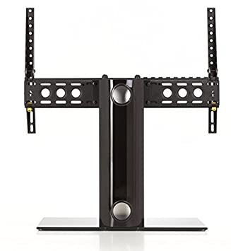 AVF B601BB A Universal Table Top TV Stand / TV Base   Adjustable Tilt
