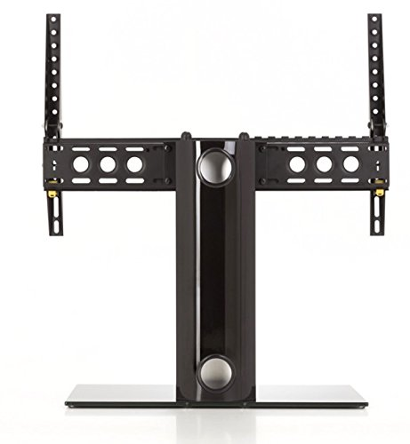 AVF B601BB-A  Universal Table Top TV Stand/TV Base - Adjustable Tilt - Fits Most 46 to 65-Inch TVs - Black