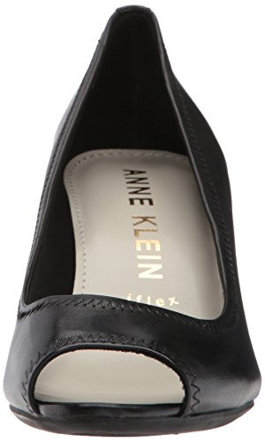 cheap sale geniue stockist buy cheap professional Anne Klein Women's Meredith Leather Pump Black Leather zn7LDlTLH