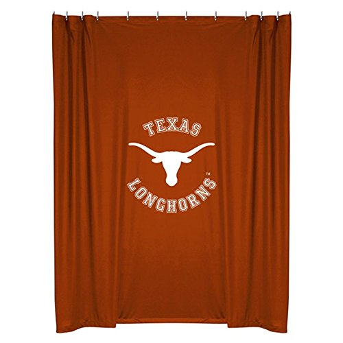 NCAA Texas Longhorns College Bathroom Accent Shower ()