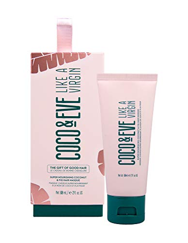 Coco & Eve The Gift of Good Hair Bauble. Like A Virgin Coconut & Fig Hair Masque. Limited Edition Hair Mask Christmas Gift Tree Decoration & Stocking Stuffer