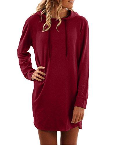 hoodie dress - 7
