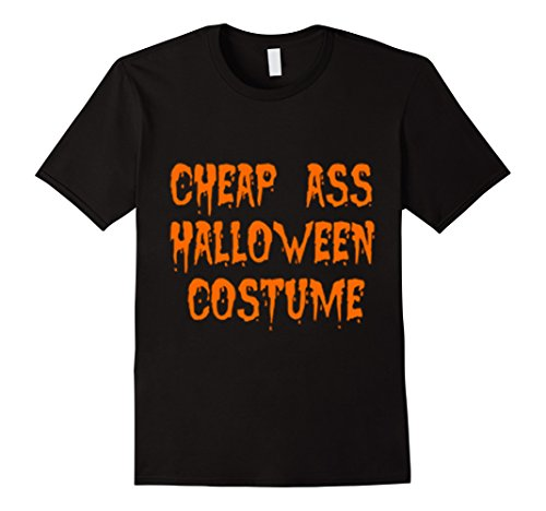 Cheap Halloween Male Costumes (Mens MK Shirt Cheap Ass Halloween Costume T-Shirt 100% Cotton Large)