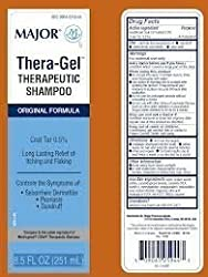 [3 Pack] Thera-gel® Therapeutic Shampoo 251ml8.5oz **Compare To The Same Active Ingredients Found In Neutrogena T-gel Shampoo & Save!!**