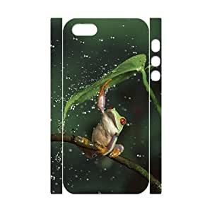 Cool Painting Frog Custom 3D Cover Case for Iphone 5,5S,diy phone case case531990 by icecream design