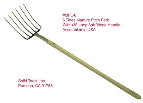 6 Tine Manure Fork - 4