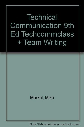 Technical Communication Mike Markel Pdf