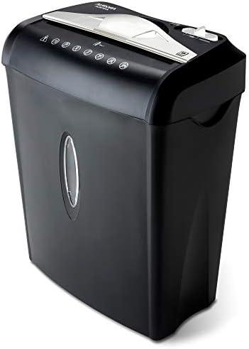 Aurora AU875XA Paper and Credit Card Shredder with 3.7-Gallon Wastebasket, 8-Sheet Cross-Cut with Basket